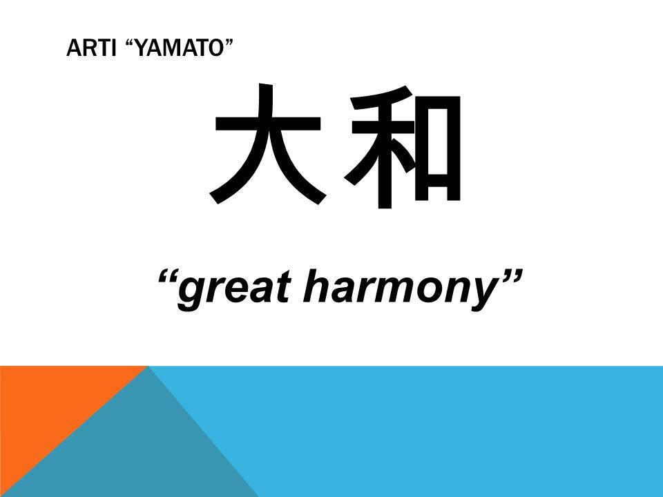 "ARTI ""YAMATO"" 大和 ""great harmony"""