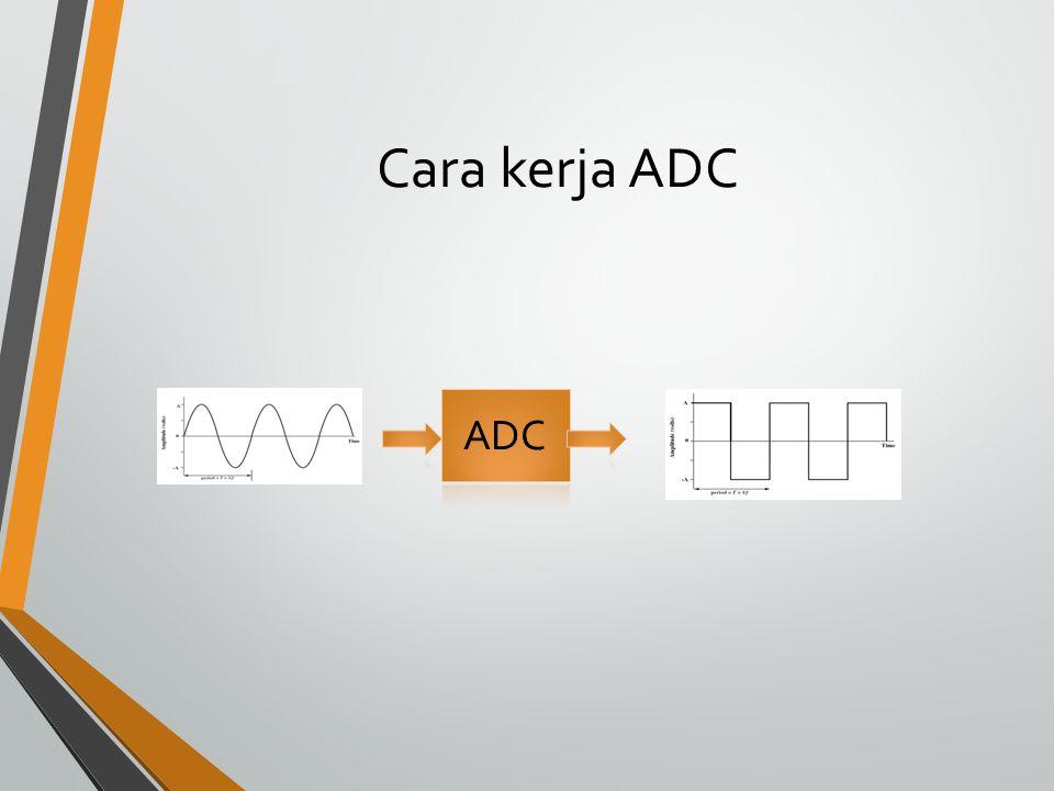 Cara kerja ADC