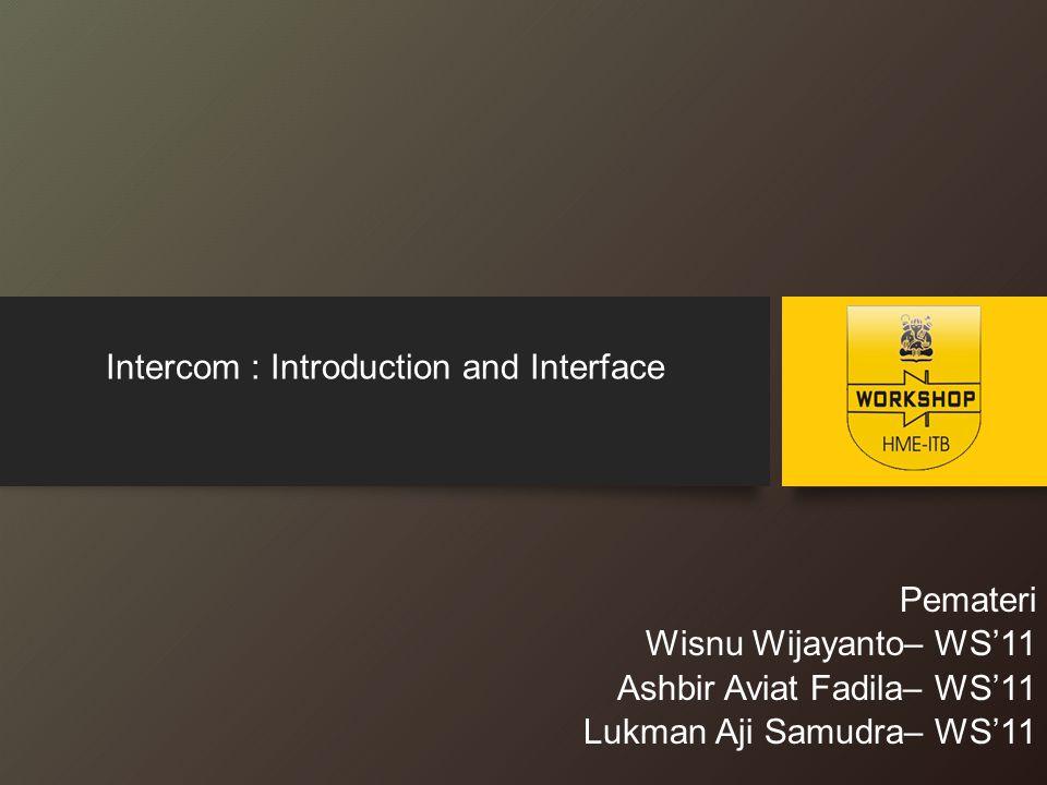 Intercom .