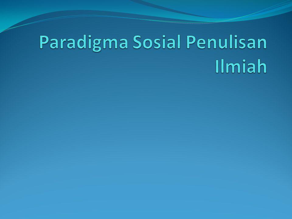 Paradigma sosial positivisme anti-positivisme