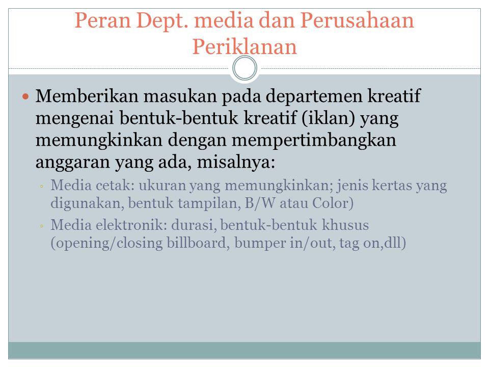 Alur Kerja Dep. Media