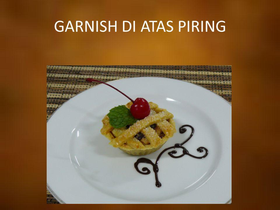 GARNISH DI ATAS PIRING
