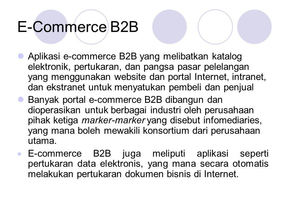 Faktor-Faktor Kesuksesan e-Commerce Pemilihan dan Nilai.