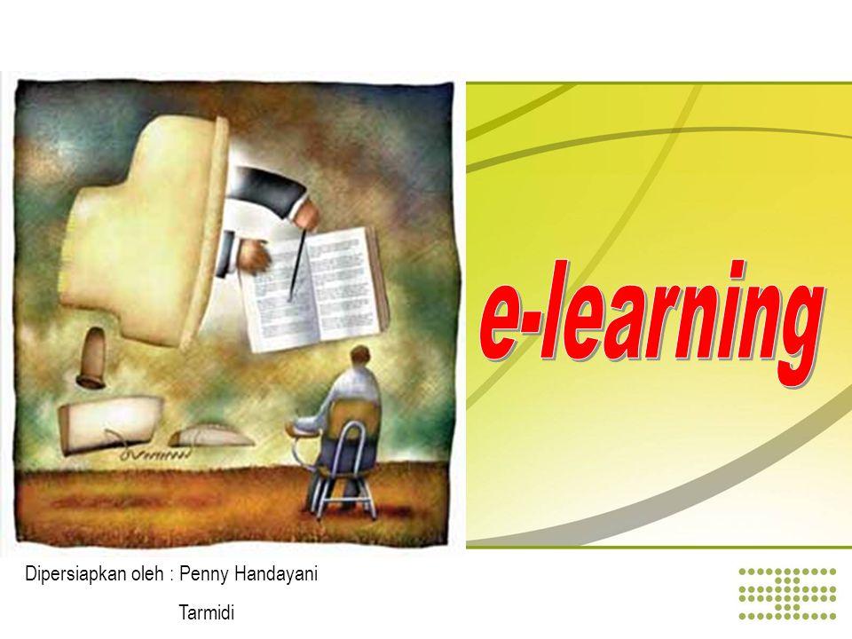Kekurangan E-Learning Butuh usaha lebih dalam mempersiapkan materi pembelajaran Siswa perlu selalu dimotivasikan dan diorganisasikan Harus memperhatikan sisi paedagogi dari suatu materi