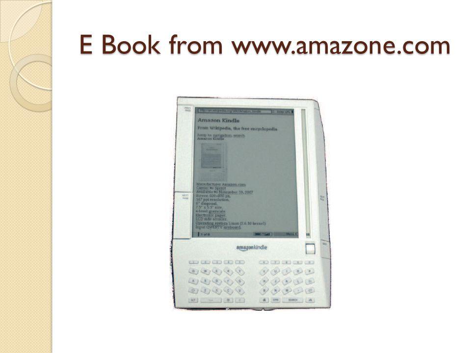 E Book from www.amazone.com