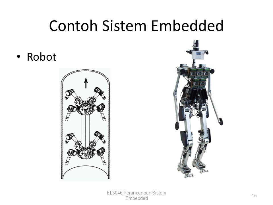 Contoh Sistem Embedded Robot EL3046 Perancangan Sistem Embedded 15