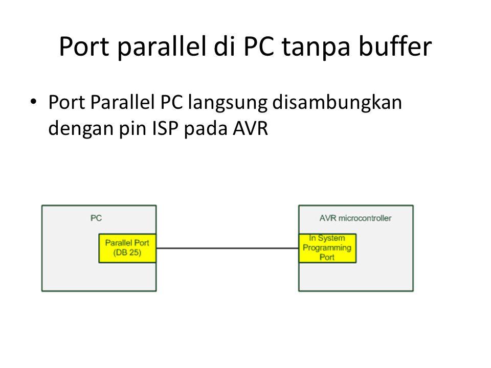 Contoh Programmer AVR-USB