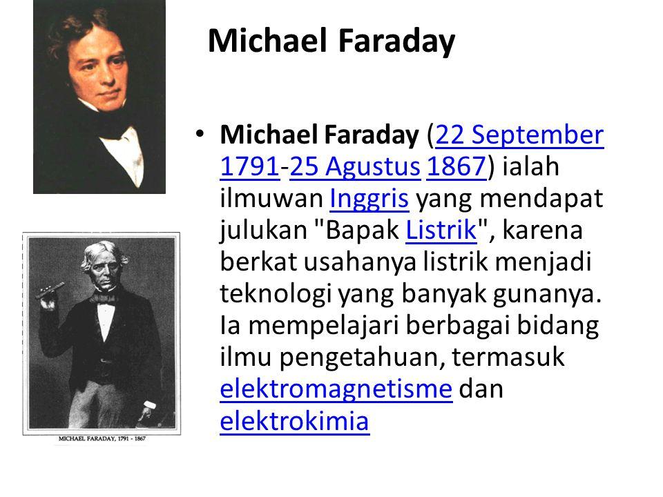 Generator DC 1831-1832, Michael Faraday menemukan prinsip elektromagnetik generator dan pembangkit generator DC skala kecilMichael Faraday 1832 Hippolyte Pixii menemukan generator DC pertamakali menggunakan komutator yang merubah energi mekanik yang di rubah menjadi listrik tegangan DC.Hippolyte Pixii