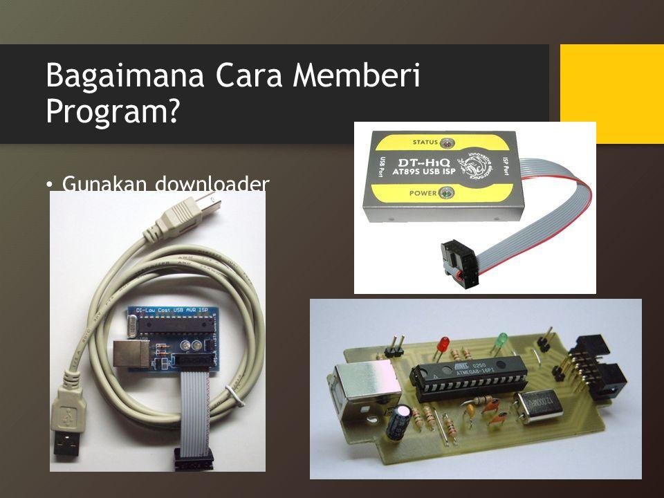 Bagaimana Cara Memberi Program? Gunakan downloader