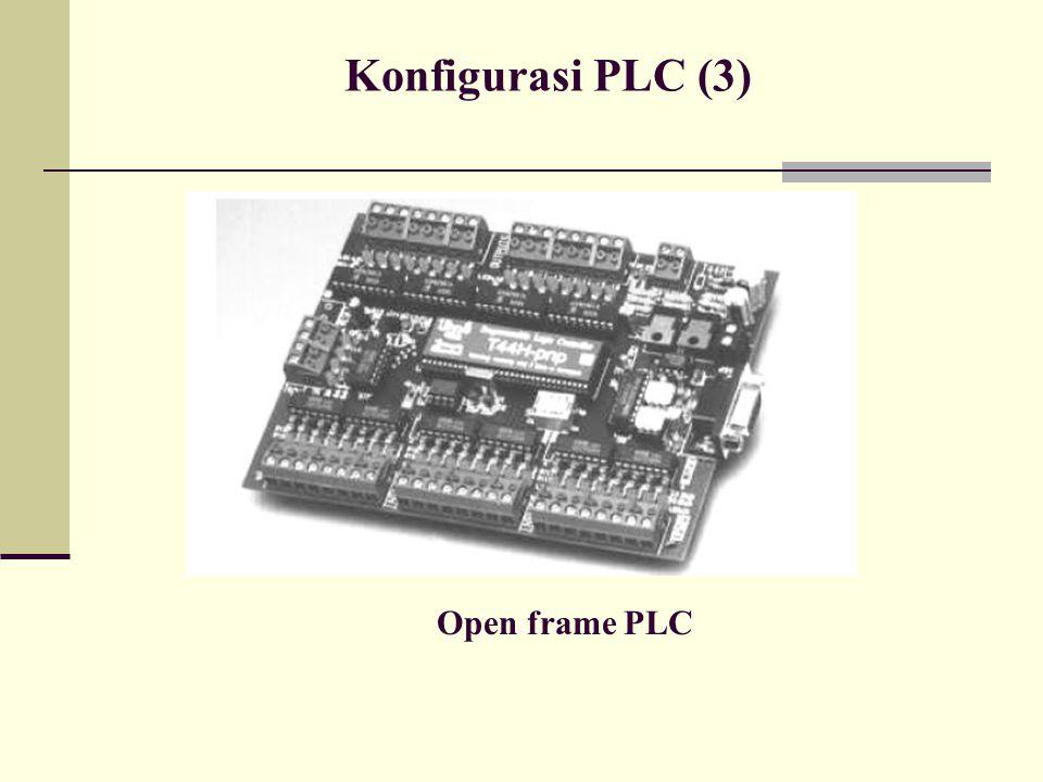 Konfigurasi PLC (3) Open frame PLC