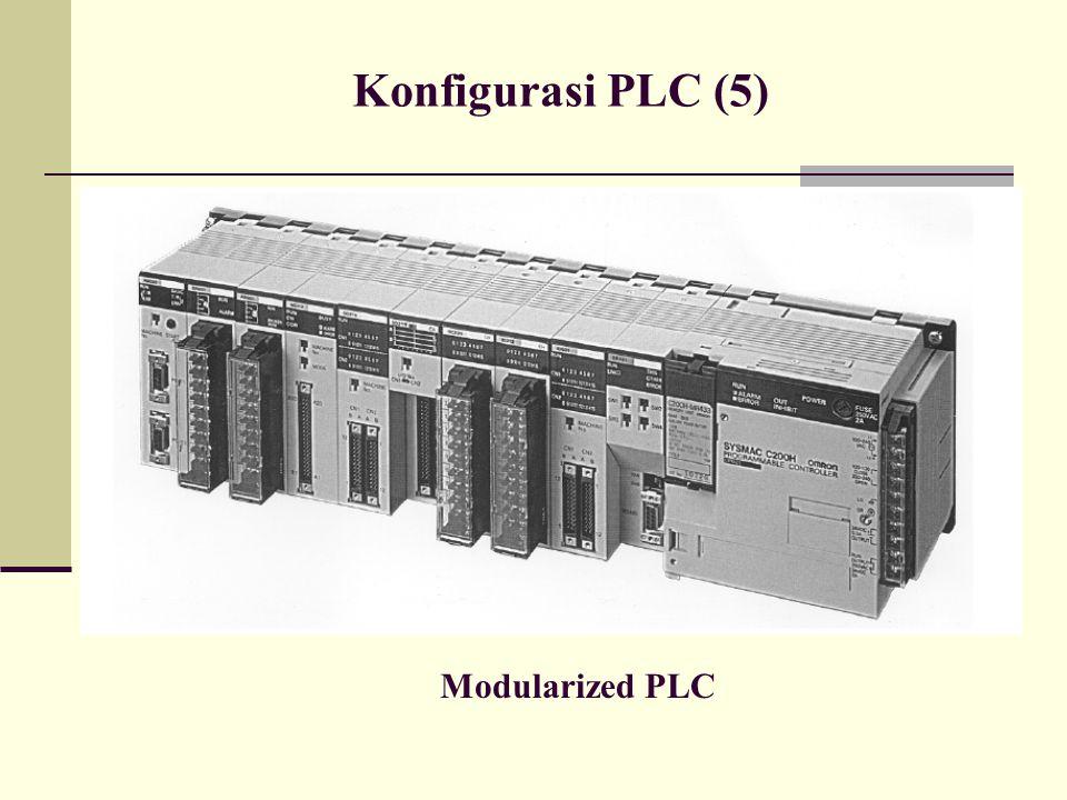 Konfigurasi PLC (5) Modularized PLC