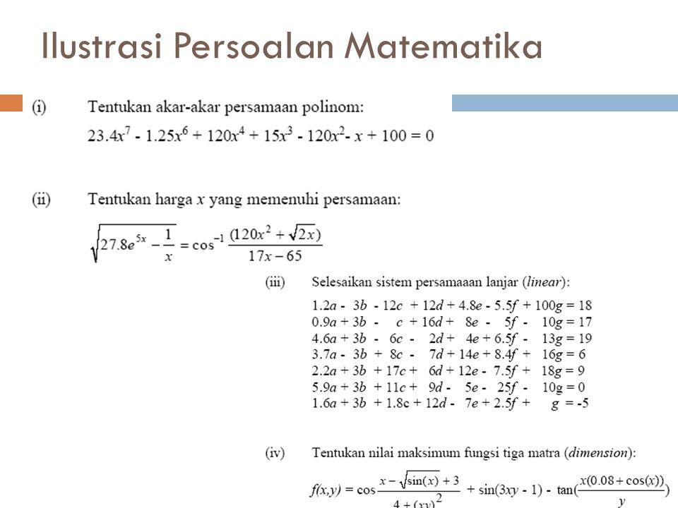 Metode Iterasi Titik Tetap Metode iterasi titik tetap adalah metode yg memisahkan x dengan sebagian x yang lain sehingga diperoleh : x = g(x).