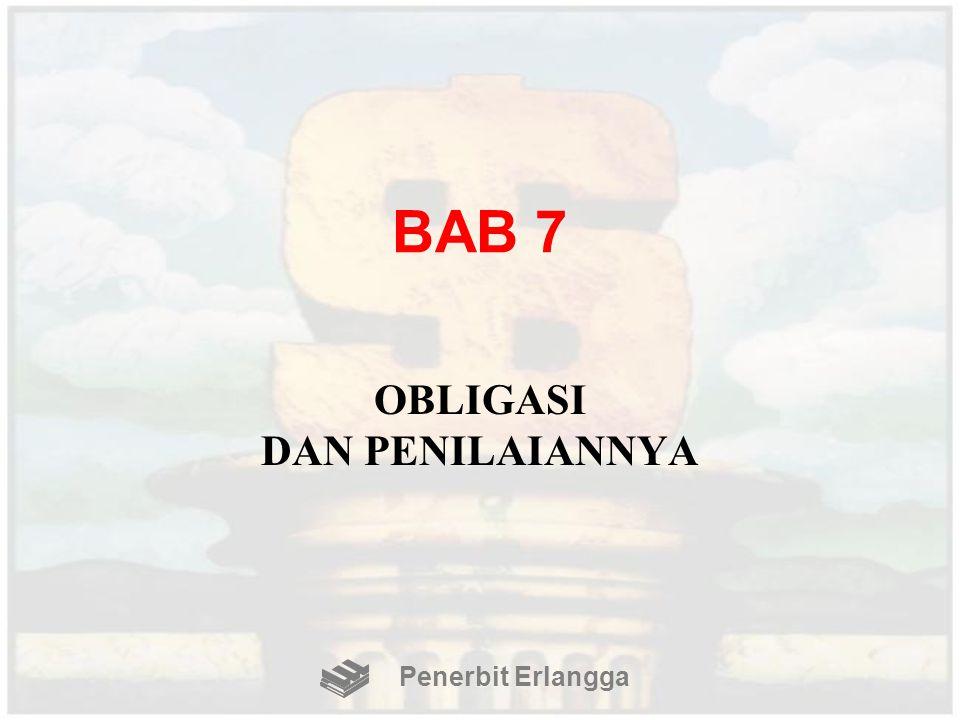 BAB 7 OBLIGASI DAN PENILAIANNYA Penerbit Erlangga