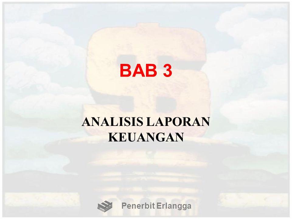 BAB 3 ANALISIS LAPORAN KEUANGAN Penerbit Erlangga