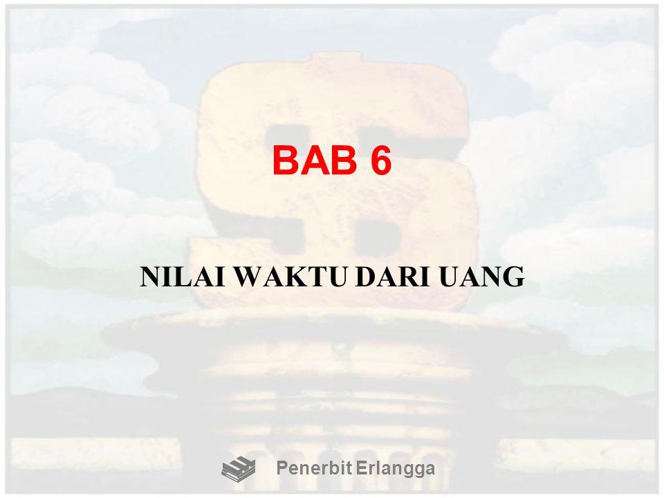 BAB 6 NILAI WAKTU DARI UANG Penerbit Erlangga