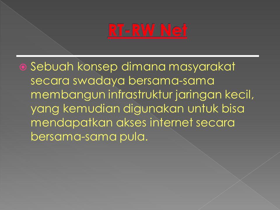  Alasan RT-RW Net Bisa Dijadikan Bisnis (1/2) › Mudah dikembangkan sendiri.