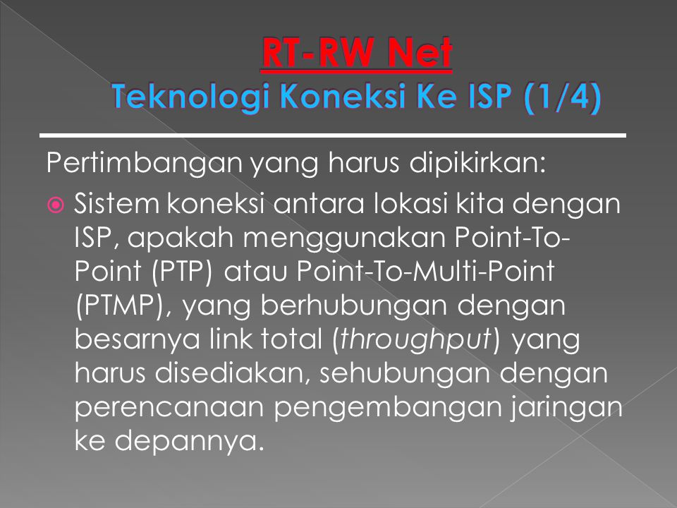  Skema Point-To-Multi-Point