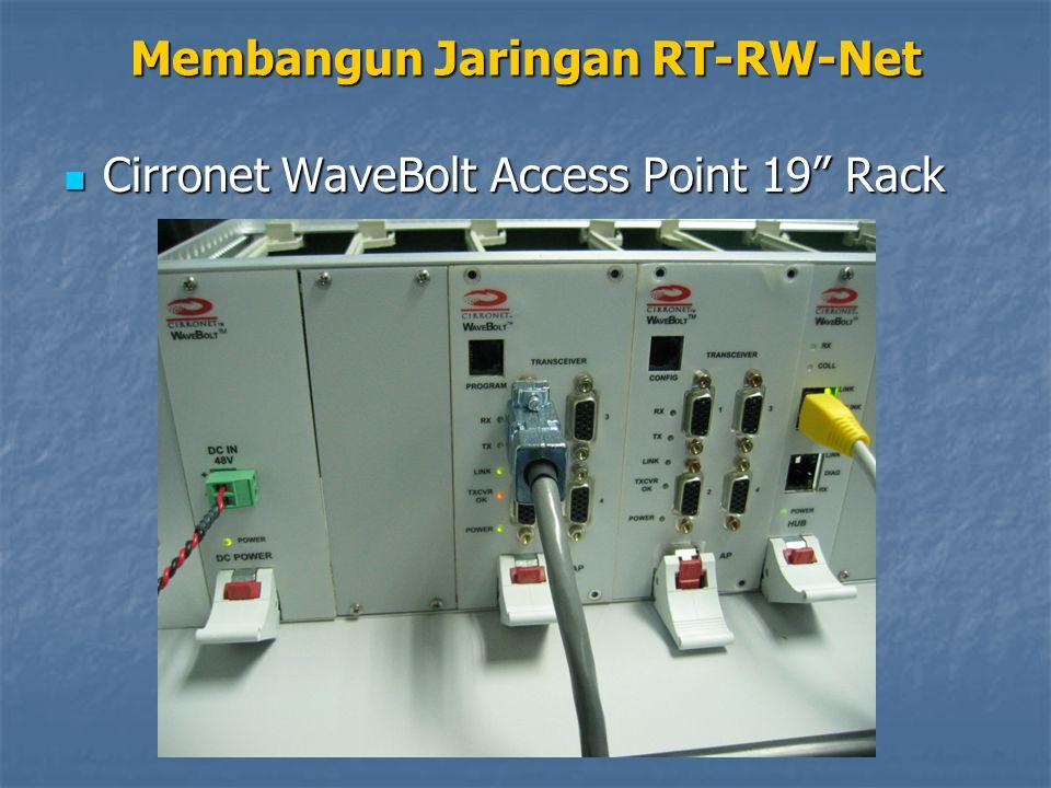 Cirronet WaveBolt Access Point 19 Rack Cirronet WaveBolt Access Point 19 Rack Membangun Jaringan RT-RW-Net