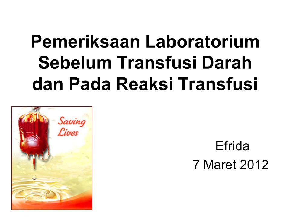 Melemahnya/ perubahan antibodi  Umur  Hipogamaglobulinemia  Agamaglobulinemia kongenital/ didapat  Chimerism  Transplantasi sumsum tulang dg ABO non identik