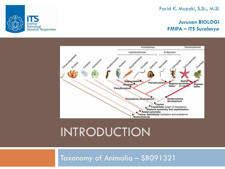 intro  Taxonomy  known as the oldest world's profession  Sistematics  studi utk mempelajari keanekaragaman organisme dan hub.