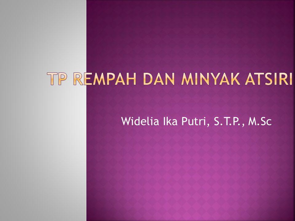 Widelia Ika Putri, S.T.P., M.Sc