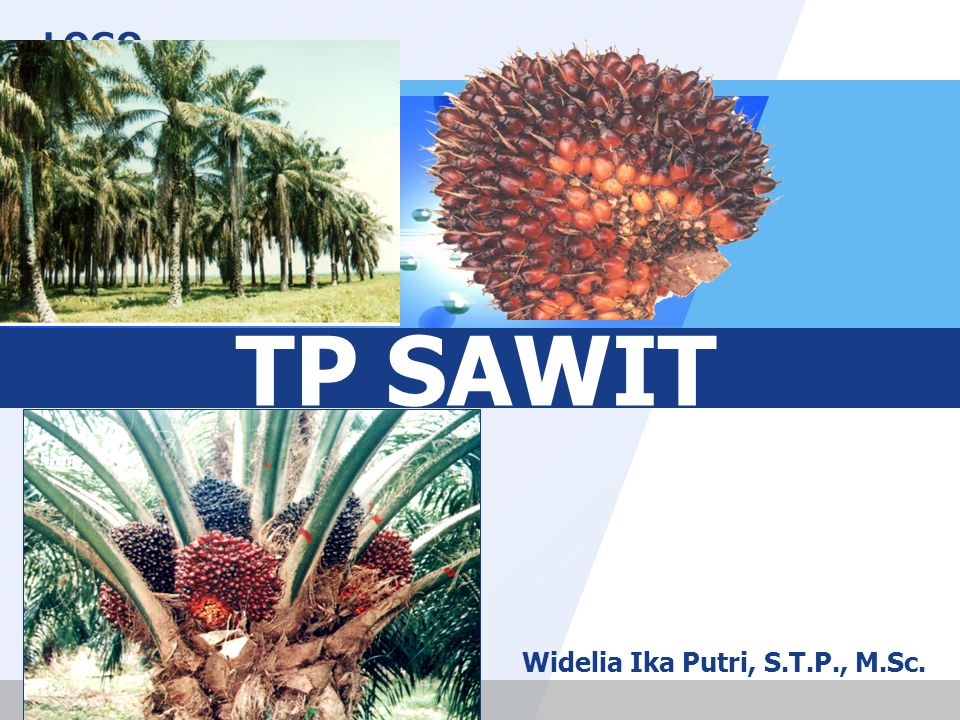 LOGO TP SAWIT Widelia Ika Putri, S.T.P., M.Sc.