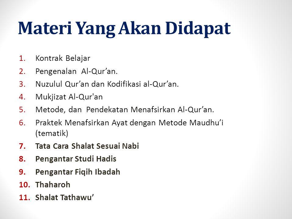 Komposisi Penilaian AIK Intensif Studi Islam TA.