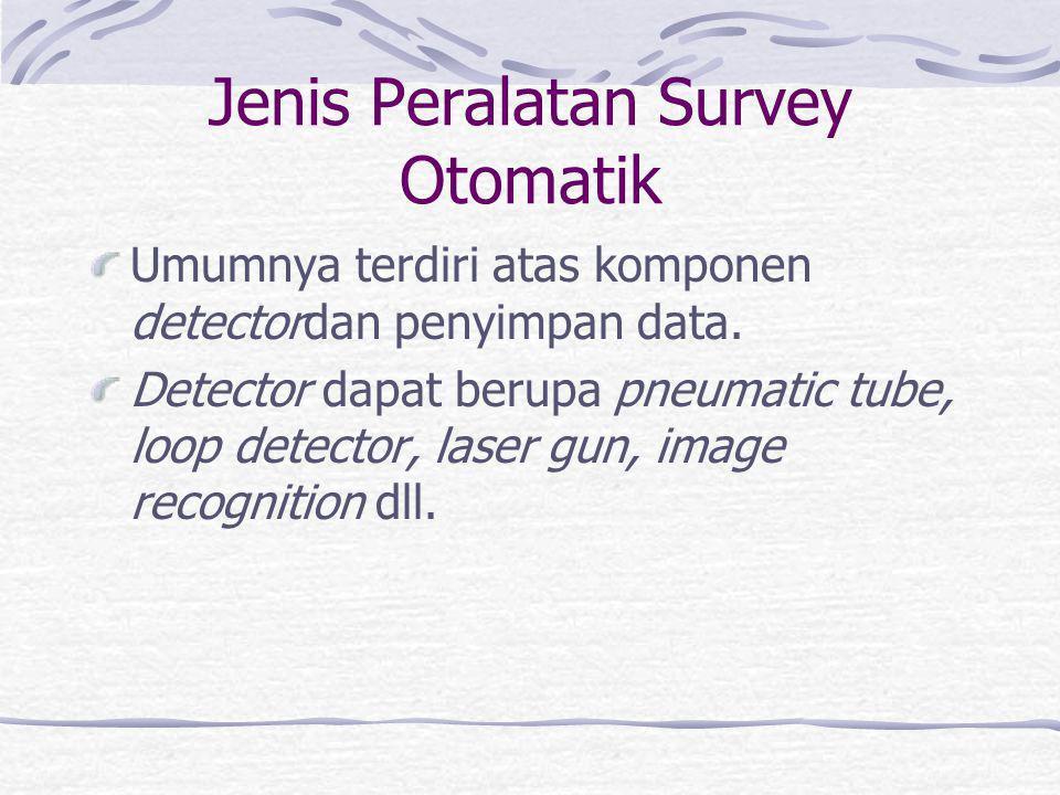Survey Kapasitas Simpang Bersinyal Kapasitas suatu kaki simpang bersinyal dipengaruhi arus jenuh, waktu hijau efektif dan panjang siklus.