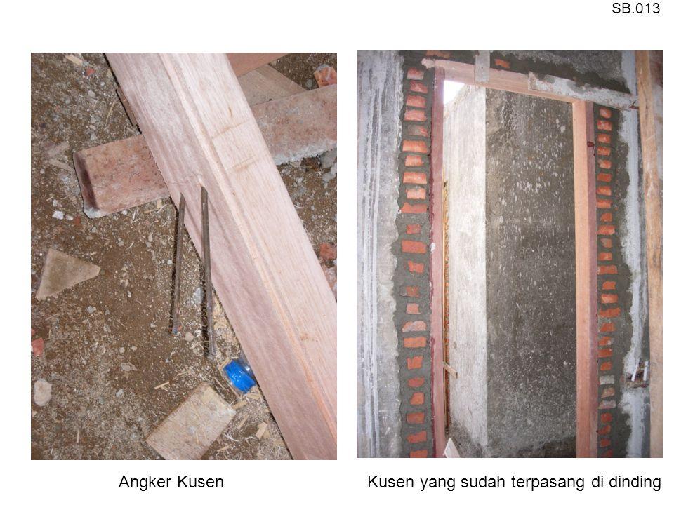Angker KusenKusen yang sudah terpasang di dinding SB.013