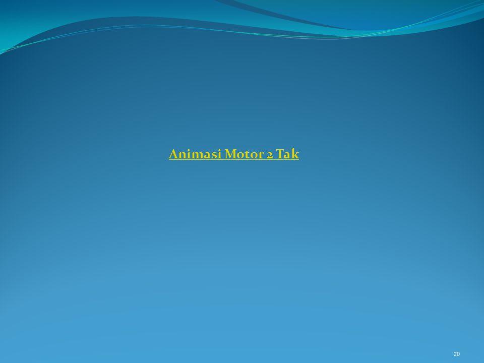 Animasi Motor 2 Tak 20