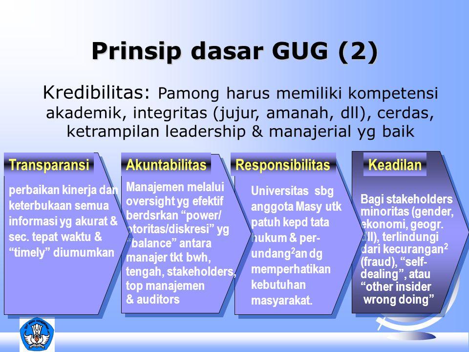 Keadilan Bagi stakeholders minoritas (gender, ekonomi, geogr.