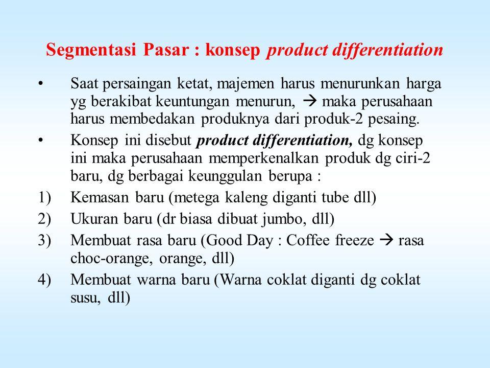 4)Perusahaan yg memasarkan satu jenis produk dpt melakukannya selama jangka waktu yg panjang dg ongkos per unit yg lebih rendah.