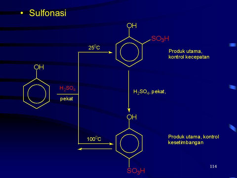 114 Sulfonasi
