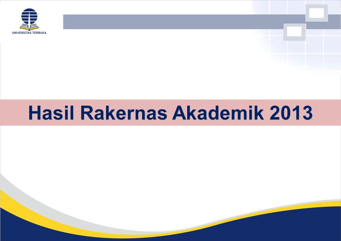 Hasil Rakernas Akademik 2013