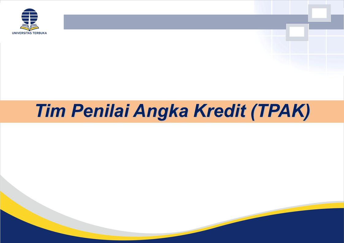 Tim Penilai Angka Kredit (TPAK)