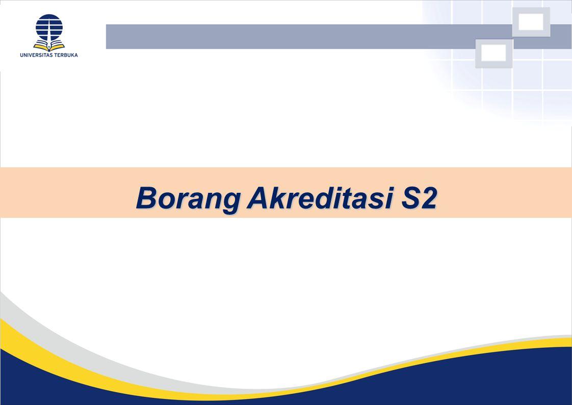 Borang Akreditasi S2