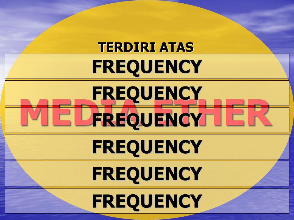 MEDIA ETHER FREQUENCY FREQUENCY FREQUENCY FREQUENCY FREQUENCY FREQUENCY TERDIRI ATAS