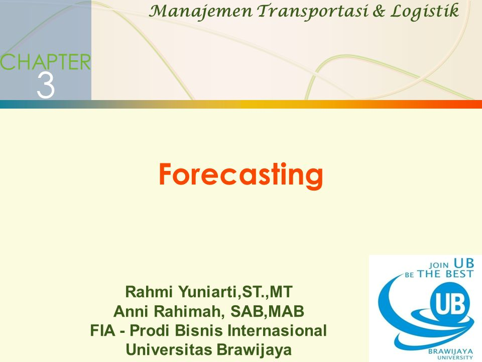 Qualitative Forecasting Models (cont)  Jury of executive opinion  Opinions of a small group of high level managers, often in combination with statistical models.