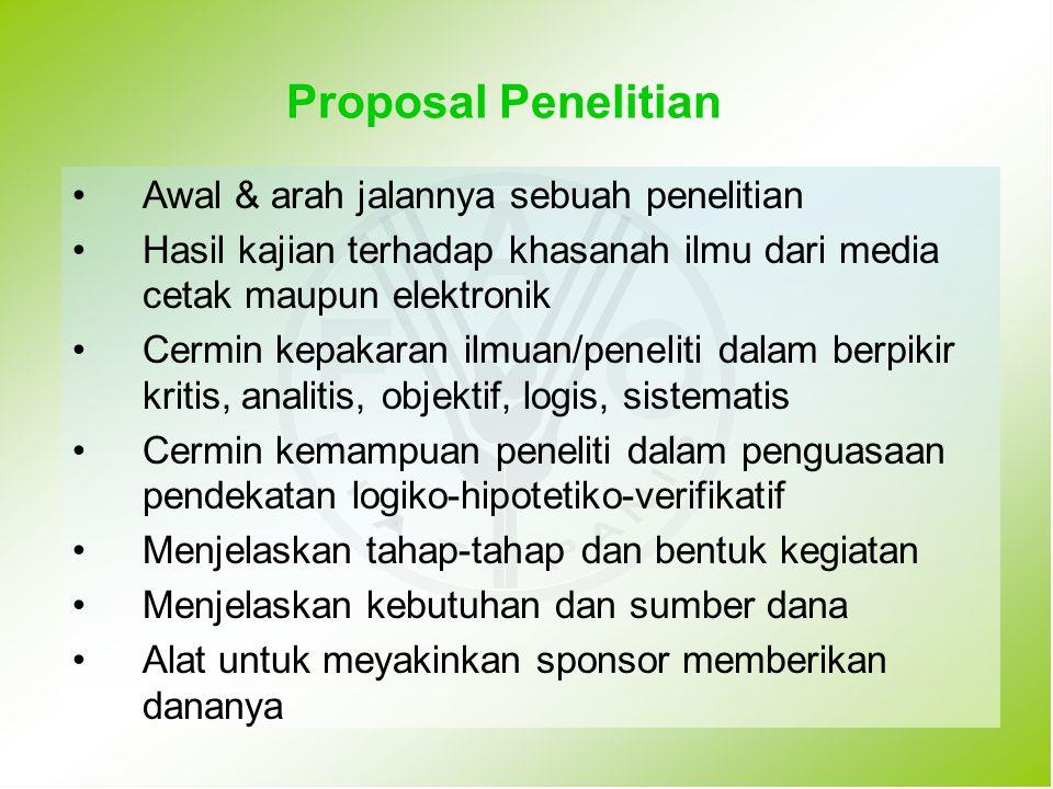 PENILAIAN USUL PENELITIAN HIBAH PASCA Setiap kriteria diberi Skor : 1, 2, 3, 5, 6, 7* Passing grade 550 tanpa nilai 3