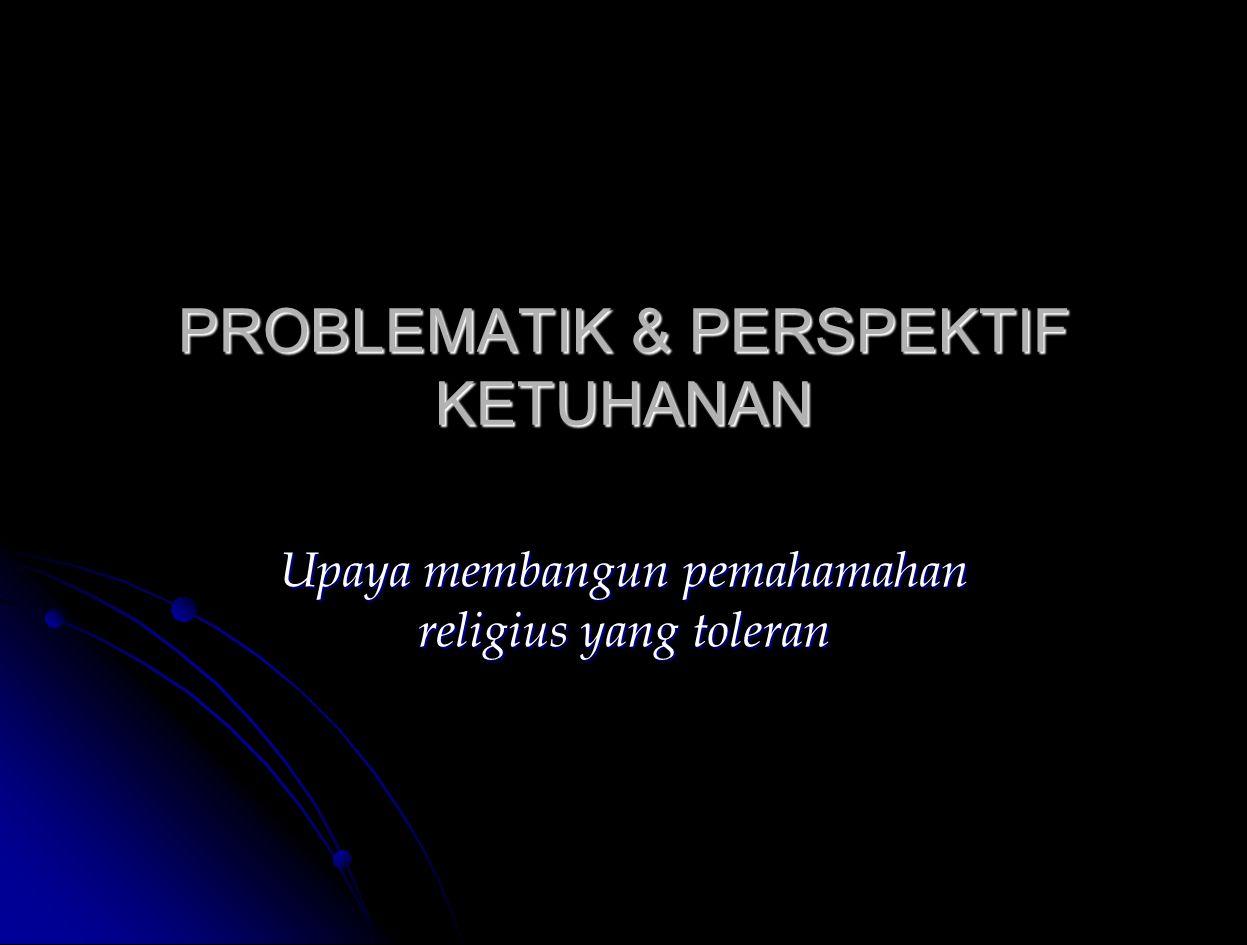 Renungan Apakah negara dan warga negara Indonesia ini sudah benar-benar mengaktualisasikan prinsip ketuhanan dalam kehidupan .