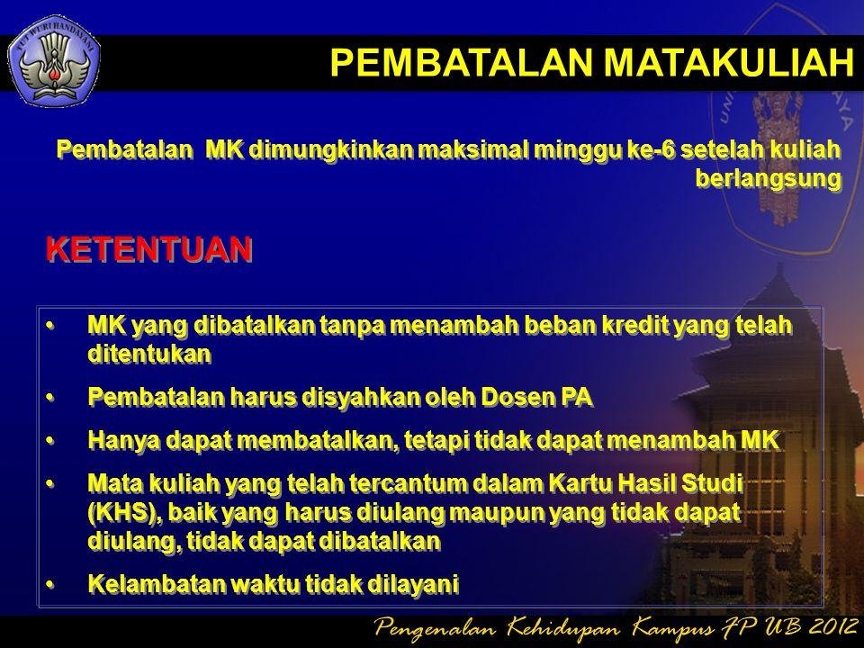 DAFTAR HADIR 4.Ijin tertulis dapat dilayani di Subbag Akademik bila ybs SAKIT, Terkena Musibah, atau Ijin Khusus dari Pimpinan Universitas / Fakultas