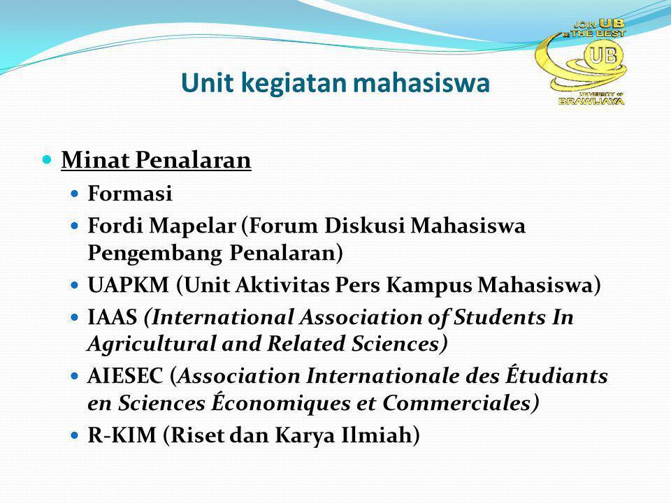 Unit kegiatan mahasiswa Minat Penalaran Formasi Fordi Mapelar (Forum Diskusi Mahasiswa Pengembang Penalaran) UAPKM (Unit Aktivitas Pers Kampus Mahasis