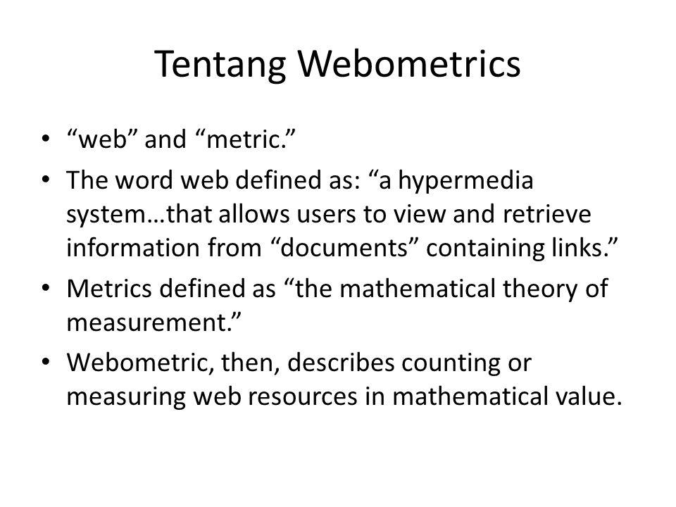 Posisi Webometrics