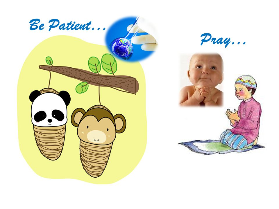 Be Patient… Pray…