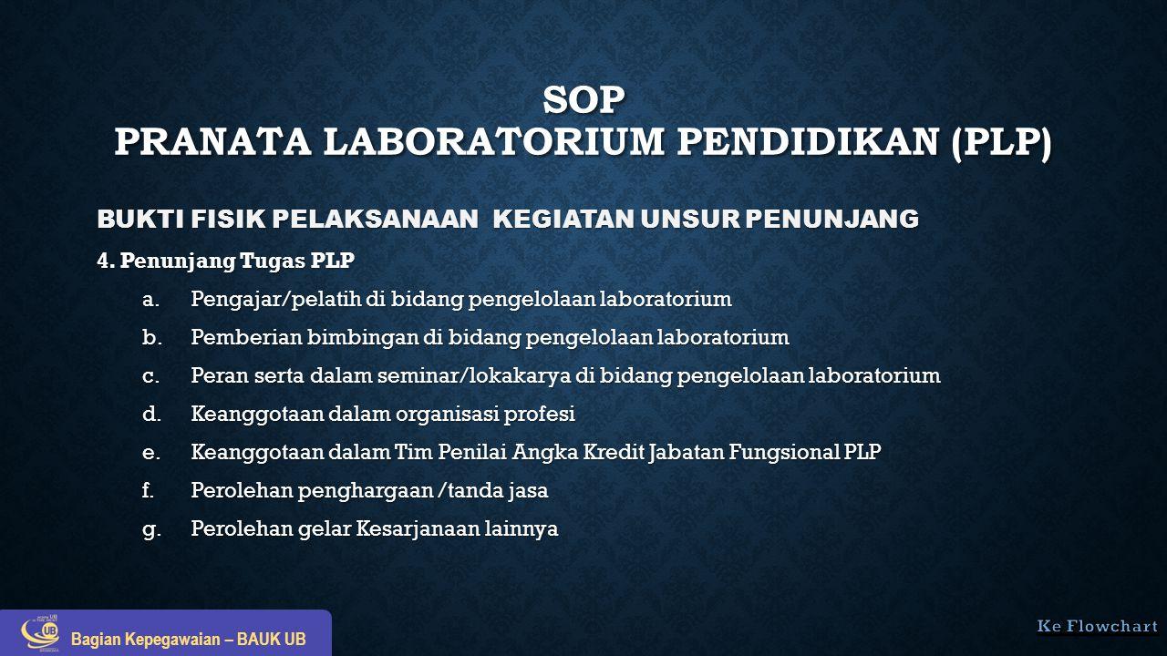 BUKTI FISIK PELAKSANAAN KEGIATAN UNSUR PENUNJANG 4. Penunjang Tugas PLP a.Pengajar/pelatih di bidang pengelolaan laboratorium b.Pemberian bimbingan di
