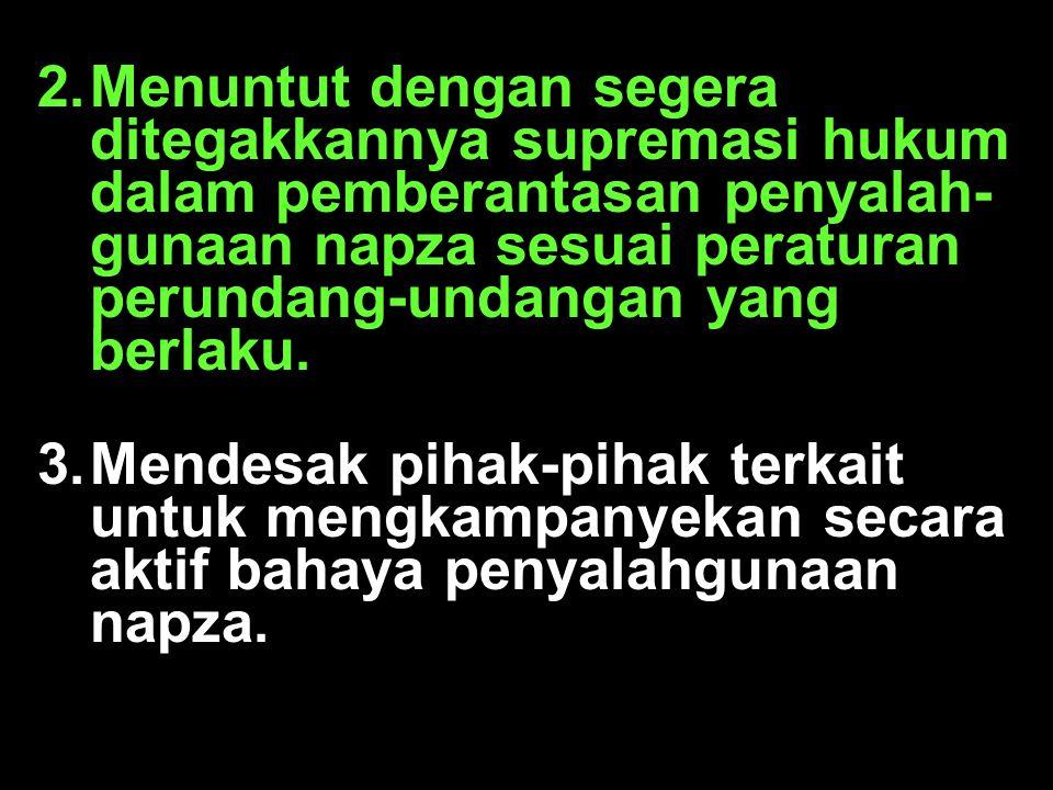 Penyalahgunaan NAPZA Merupakan penyimpangan perilaku seseorang yang berkaitan dengan obat- obatan psikoaktif, akibat pola peng- gunaan zat/obat yang bersifat patologik (tidak sehat).