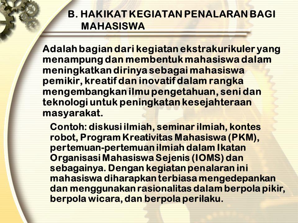 PKM GAGASAN TERTULIS (PKM-GT) merupakan program penulisan artikel ilmiah yang bersumber dari ide atau gagasan kelompok mahasiswa.