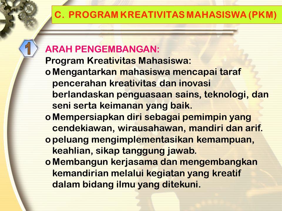 B. HAKIKAT KEGIATAN PENALARAN BAGI MAHASISWA Adalah bagian dari kegiatan ekstrakurikuler yang menampung dan membentuk mahasiswa dalam meningkatkan dir
