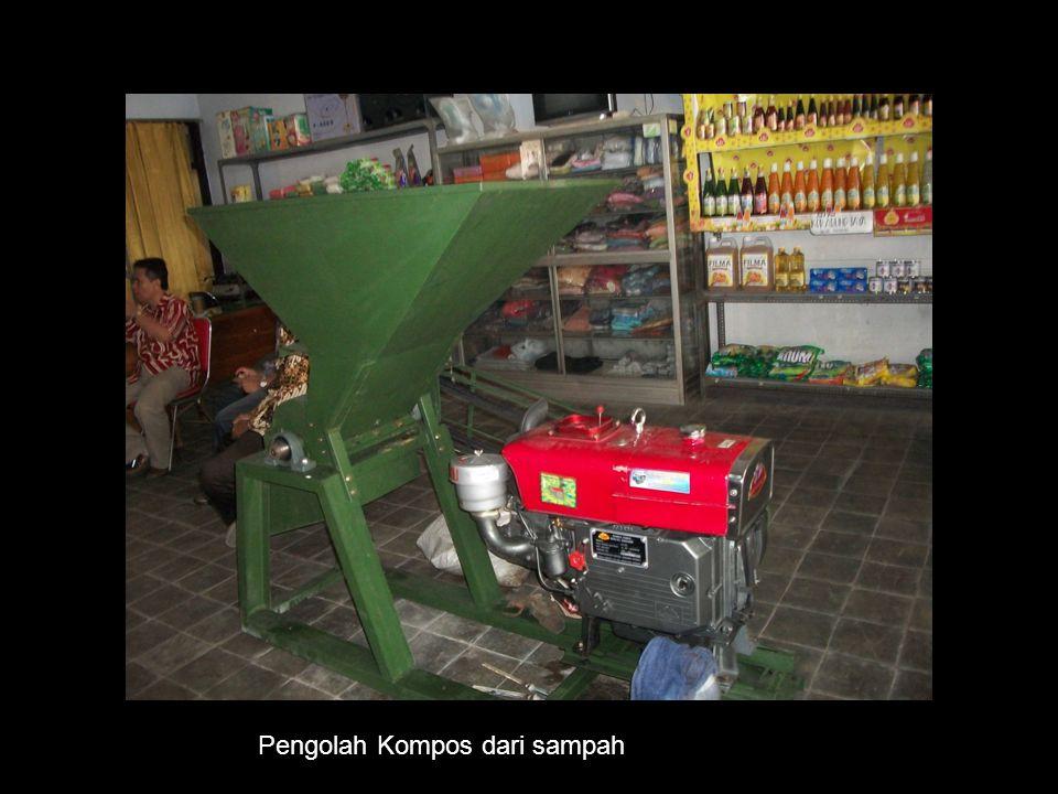 Pengolah Kompos dari sampah