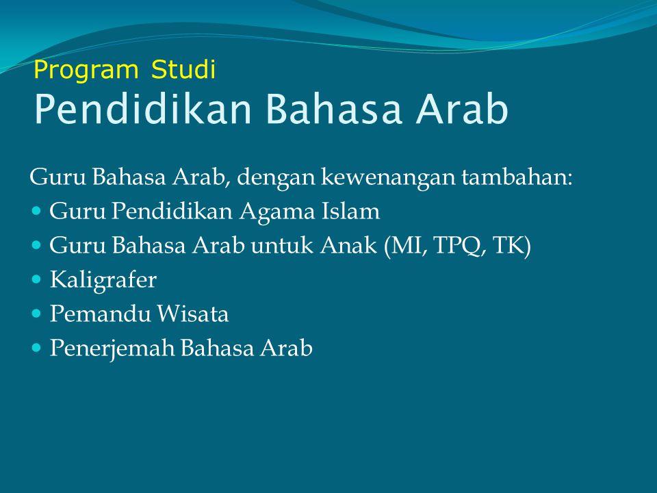 Program Studi Bahasa dan Sastra Inggris Ahli Bahasa Inggris Penerjemah Pemandu wisata